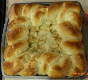 Turkey Veg Pie