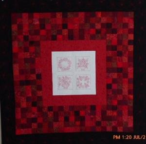 The Redwork Quilt