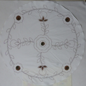 Hand applique