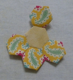 Sewing hexies