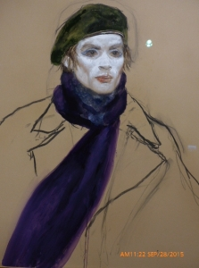 Nuryev--Purple Scarf, 2001