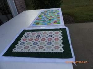 Spray Basting Quilts