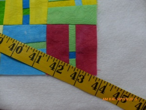 Measuring on diagonal