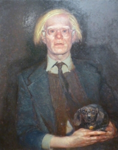 Portrait of Andy Warhol, 1976