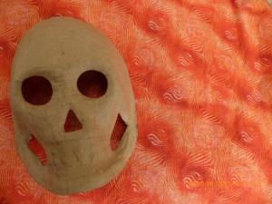 Paper Mache Sugar Mask