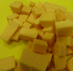 Cubing cheese