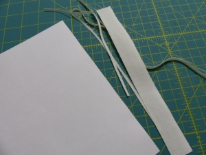 Trimming prepared fabric