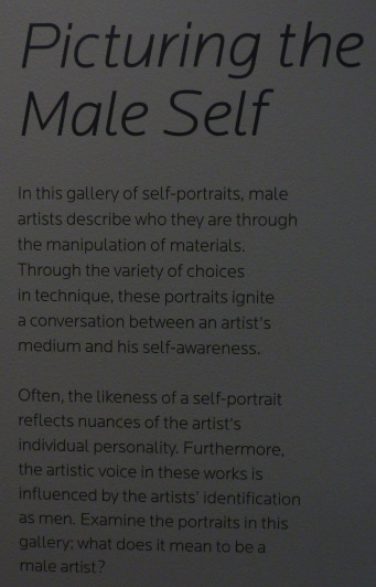 Picturing the Male Self