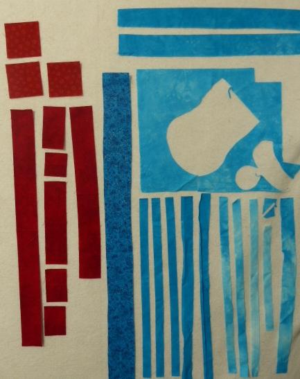 Red & Blue Scraps