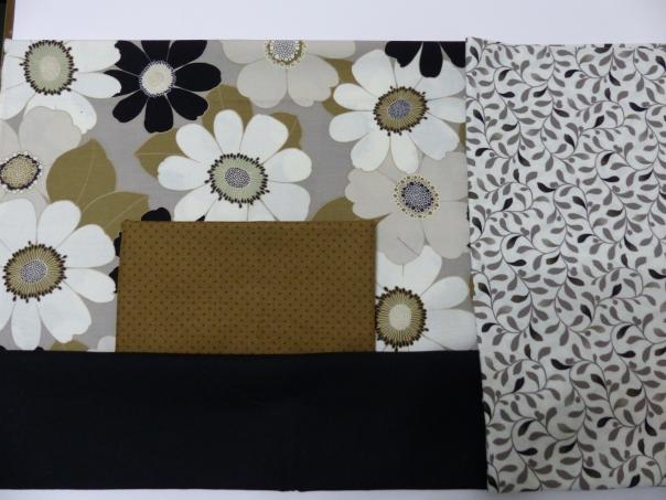 Auditioning fabrics