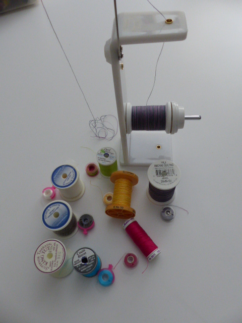 Threads, thread holder