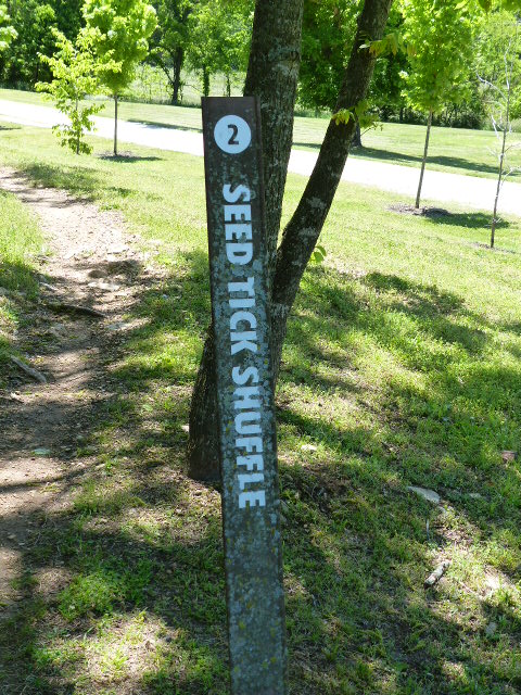 Seed Tick Shuffle sign