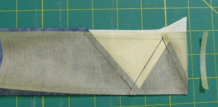 Oops--cut off seam allowance