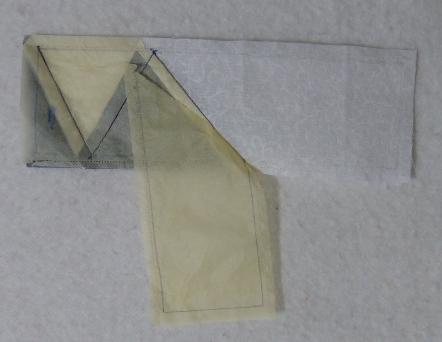 Tearing paper away