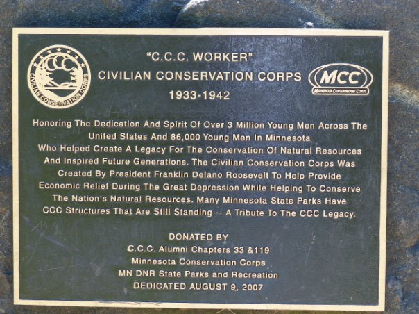 CCC Worker Sign