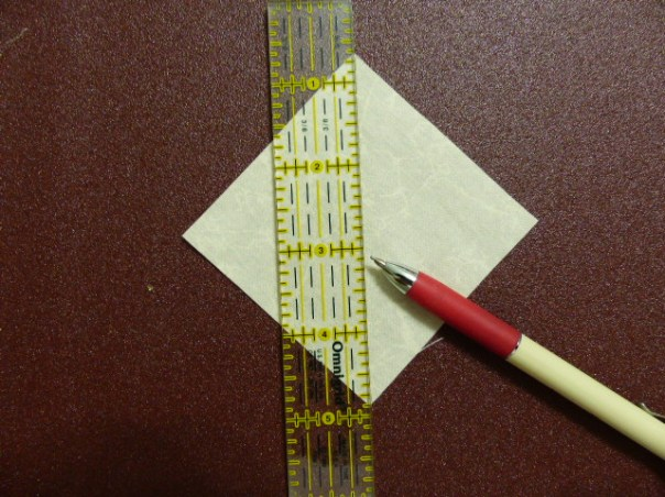 Marking on Sandpaper
