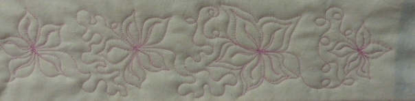Poinsettia motif