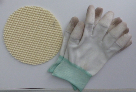 Gripper, quilting gloves