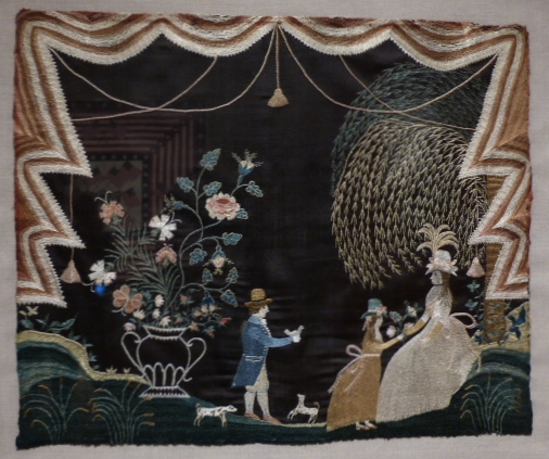 Sallie Hathaway Needlework Picture, 1784