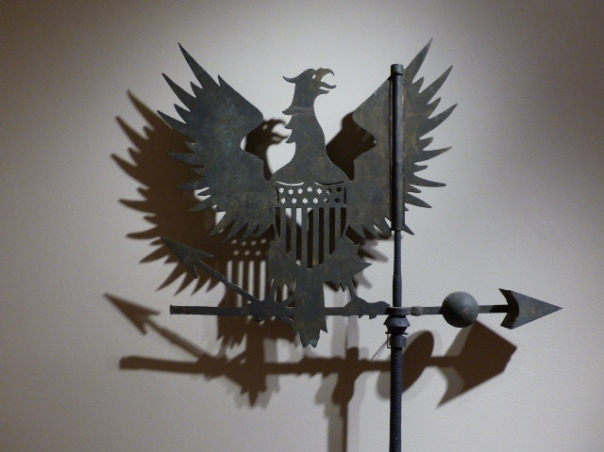 Eagle and Shield Weathervane, Artist Unidentified, ca. 1800