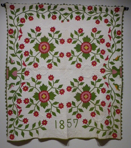 Whig Rose Quilt, Abigail Hill