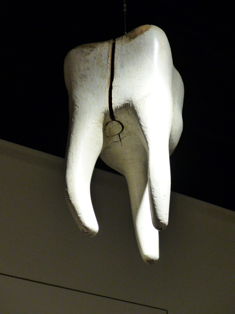 Tooth Trade Sign, Artist Unidentified