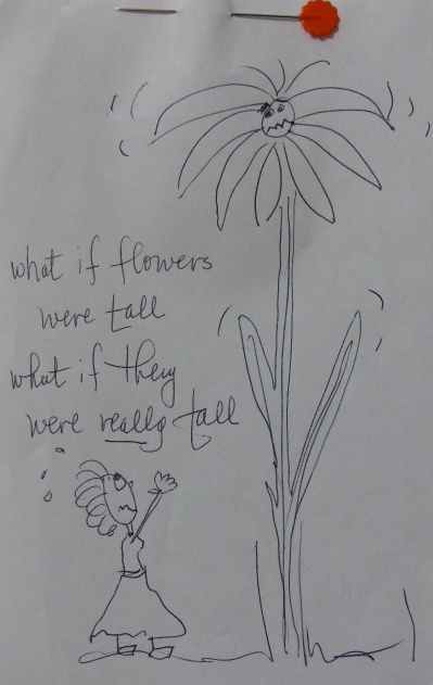 What if flowers were tall?