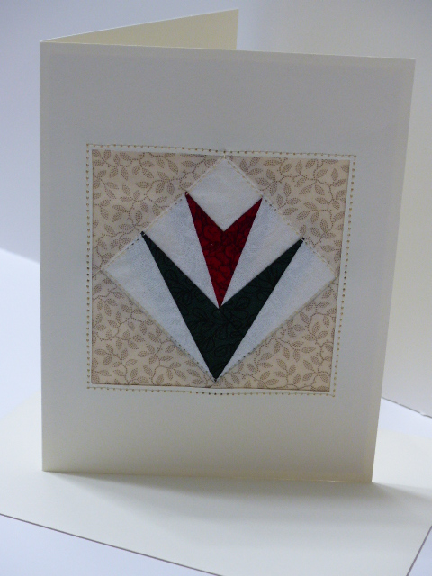 Paper pieced Card