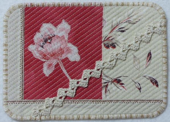 Fleur Rouge Carmin, Art Card #2