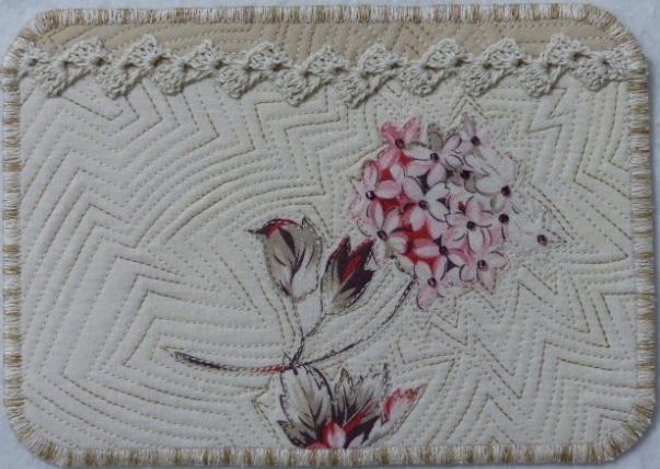 Fleur Rouge Carmin II, Art Card #3