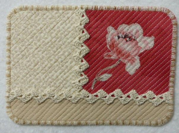 Fleur Rouge Carmin #3