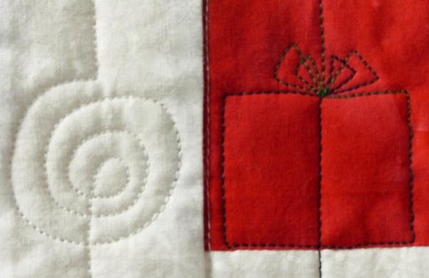 Spiral and present motifs