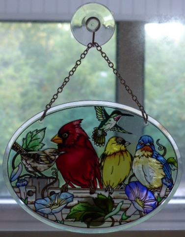 Bird suncatcher