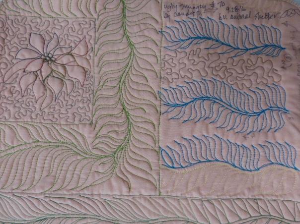 Leaf border, leaf frame
